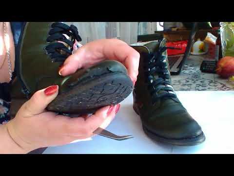 Вот так носится обувь  анти-стресс фирмы Riker
