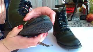 Вот так носится обувь  анти стресс фирмы Riker