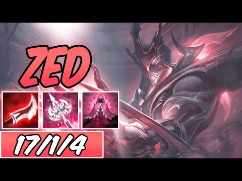 45% CDR BURST FULL LETHALITY ELECTROCUTE GALAXY SLAYER ZED MID S+ | New Build & Runes | S10