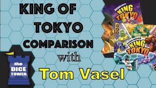 King of Tokyo Comparison - with Tom Vasel