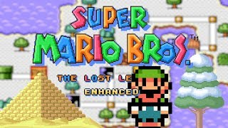 Super Mario Bros. - The Lost Levels Enhanced [#5/#6] • Super Mario World ROM Hack (Playthrough)