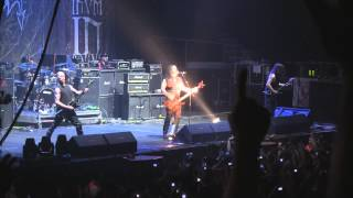 Morbid Angel - Immortal Rites @The Metal Fest 2013 - Santiago, Chile. Movistar Arena