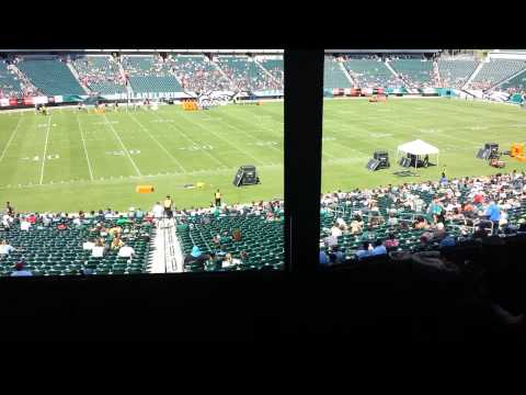 Lincoln Financial Field Eagles Luxury Suite