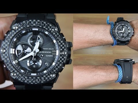 Casio G Shock G Steel Gst B100x 1a Unboxing Youtube