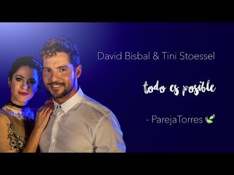 Todo Es Posible - David Bisbal y Tini Stoessel (con letra)