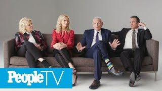 How Candice Bergen Learned About Dan Quayle's Disparaging 'Murphy Brown' Comments | PeopleTV thumbnail
