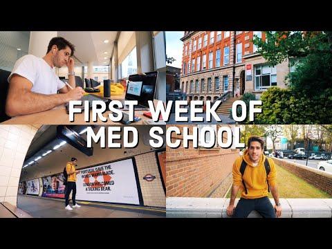 First Week Of Medical School VLOG | KharmaMedic