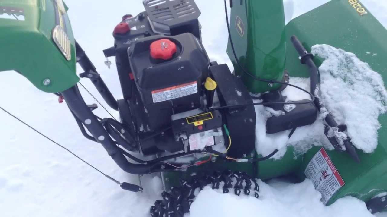 maxresdefault john deere 1028 snow blower review youtube