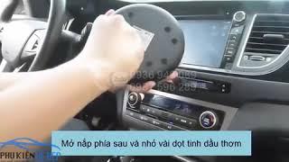 Trên tay máy lọc không khí trên oto, xe hơi Hyundai HY-12