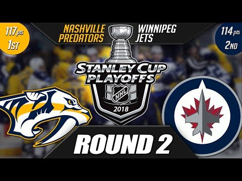Nashville Predators vs Winnipeg Jets - Round 2 Playoff Preview