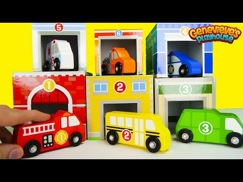 Best Preschool Learning Video for Toddlers Learn Vehicle Names and Colors Toy Cars for Kids Video!