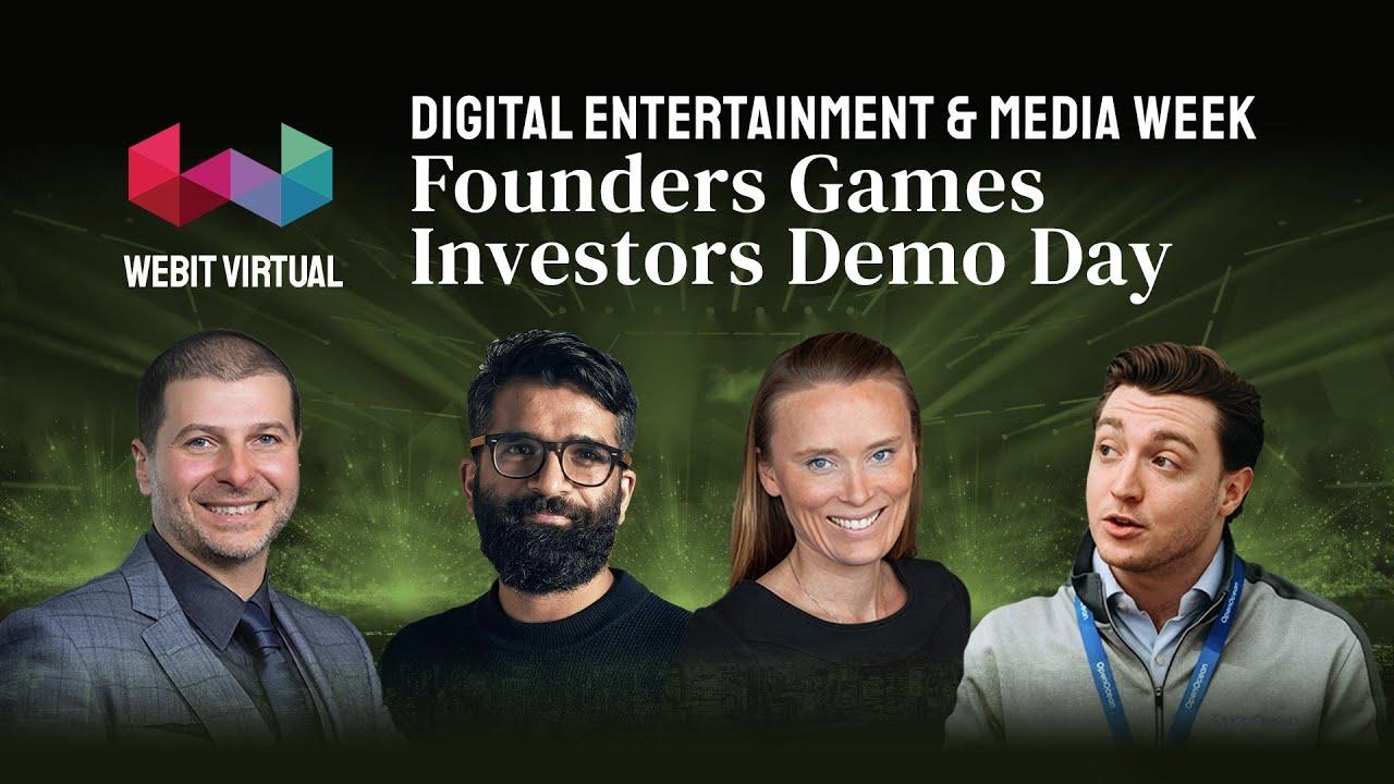 Download Digital Entertainment & Media Week: Founders Games Investors Demo Day