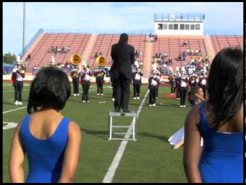 Langston University Marching Pride Band 2010 Homecoming Halftime Show