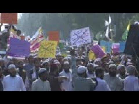 Pakistan students join anti-India protest
