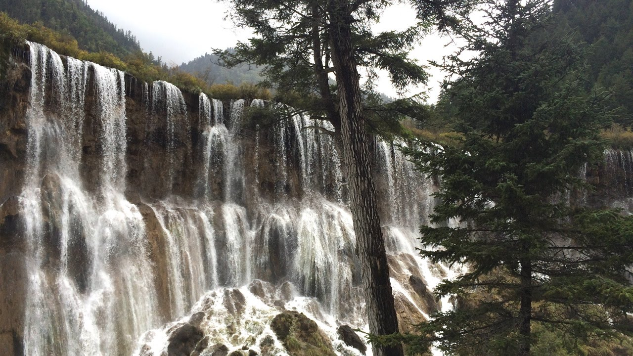 [360度動画]世界遺産#8 中国・九寨溝の珍珠灘瀑布[360 VR video]World Heritage#8 Zhenzhutan Waterfalls JiuZhaiGou in China