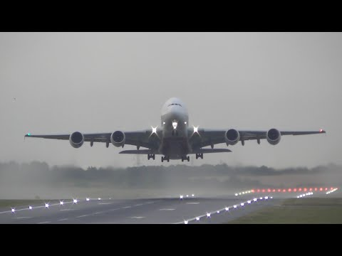 Early Morning Plane Spotting At Birmingham Int'l Airport, BHX