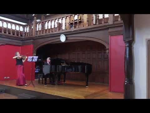 Rachmaninoff Sonata op.19 for viola and piano (first movement)