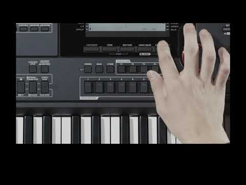 CASIO 카시오 CT-X5000 비디오 매뉴얼 - 제 6장 : 음악 만들기