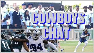 COWBOYS CHAT & ROSTER PREVIEW: Many Players Speak! Randy Gregory Applies; 2018 Preview At Atlanta!!!