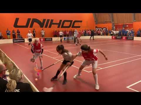 Prague Games Semifinal: Älvstranden vs Zug, Period 1 (Innebandy / Floorball)