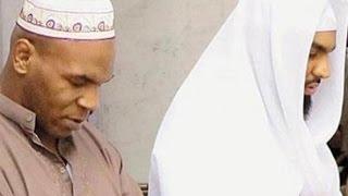 Редкие кадры Майк Тайсон принимает ислам