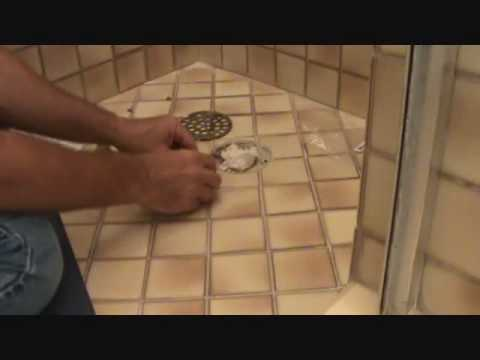 """tips"" on replacing a shower drain cover"