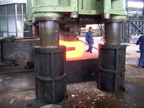 3150 ton hydraulic forging