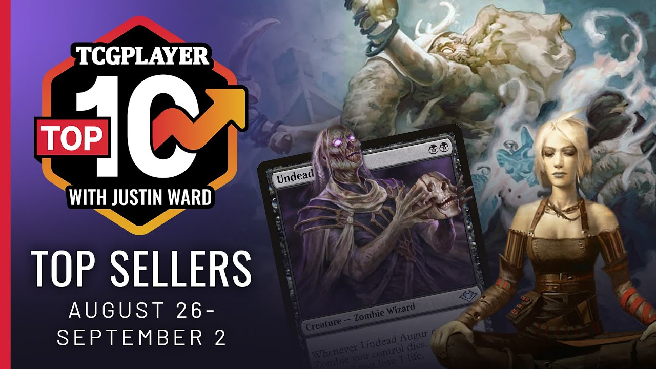 Top 10 Cards Sold August 26-September 2, 2019 by Justin Ward