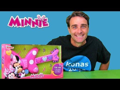 Disney Minnie Mouse Rockin Guitar ! || Toy Review || Konas2002