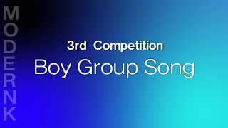모던K 3rd Competition - Boy Grou…