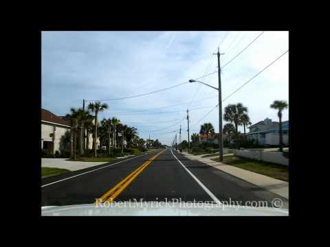 Driving On Fernandina Beach