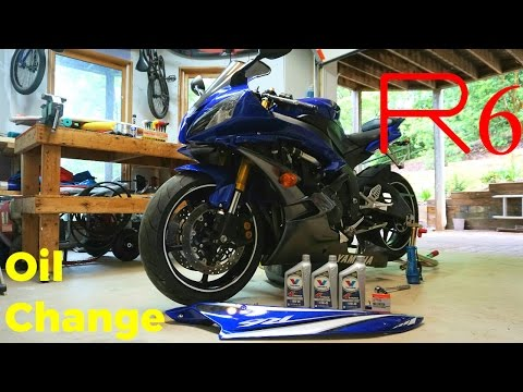 Yamaha YZF R6 2CO 2006-2007 K/&N Oil Filter