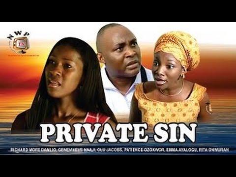 Private Sin    - Nigerian Nollywood Movie