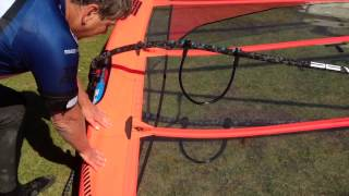 Severne Windsurf Sail - Turbo - Correct and Incorrect Tuning