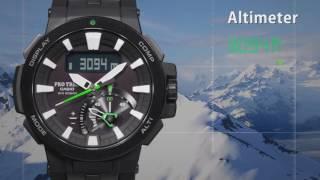 PRO-TREK PRW-7000 | ПРОМО-видео | Купить со скидкой
