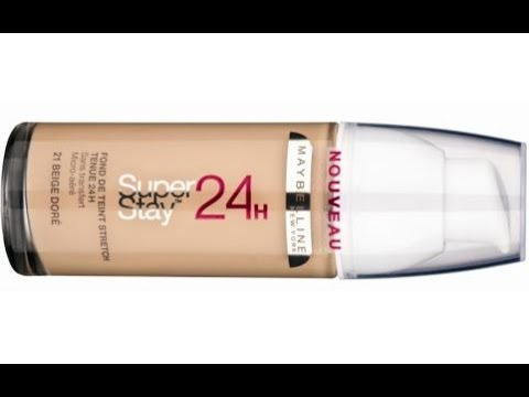 Maybelline Superstay 24 Hour Foundation REVIEW - YouTube