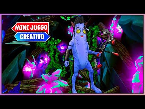 Vídeo Avatar En Fortnite Temporada 9 Minijuegos Parkour