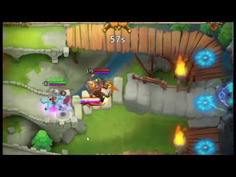 Castle Clash Lady Leo Is Powerful Than Single Evo Ghoulem