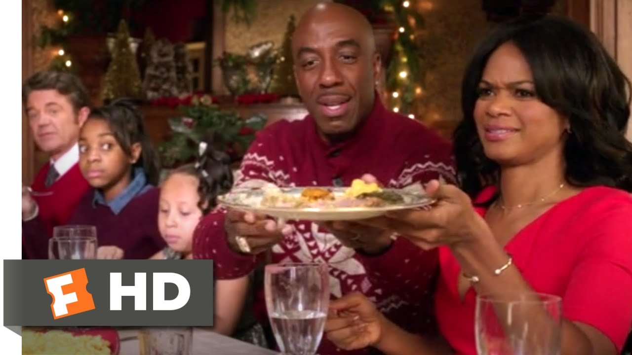 Almost Christmas Jessie Usher.Almost Christmas 2017 Christmas Dinner Scene 7 10 Movieclips