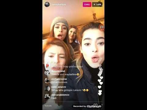 Simay Barlas, Elif Doğan canlı yayin 20 Şubat 2017_ part 2