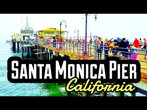 SANTA MONICA BEACH CALIFORNIA 2019