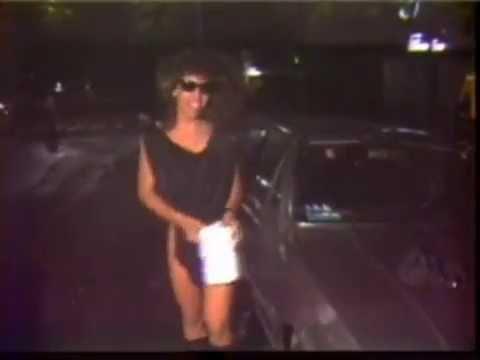 Lady Pantera antes da fama (RJ 1989)