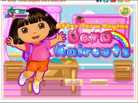 Dora Hair Cutting Games For Girls - Free Kids Games Hair ...