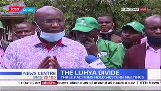 The Luhya Divide: 3 factions led by Mudavadi, Wamalwa and Malala hold meetings in Western region