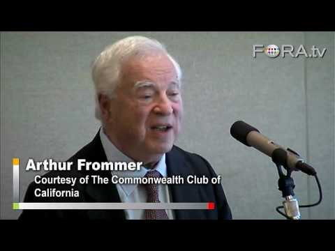 Recession Travel Tips from Arthur Frommer - YouTube