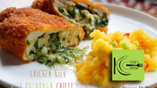 Chicken Kiev With Rutabaga Chilli Mash Recipe