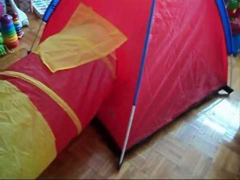 cheapest play tent with tunnel