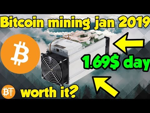 Is Bitcoin (BTC) Mining Worth It January 2019? Profitable Or Not Profitable?