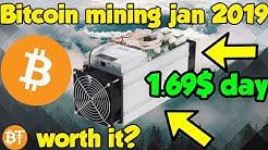Is Bitcoin (BTC) Mining Worth It January 2019? Profitable Or Not Profitable?