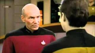 Star Trek - The Next Generation. Banned Clip from